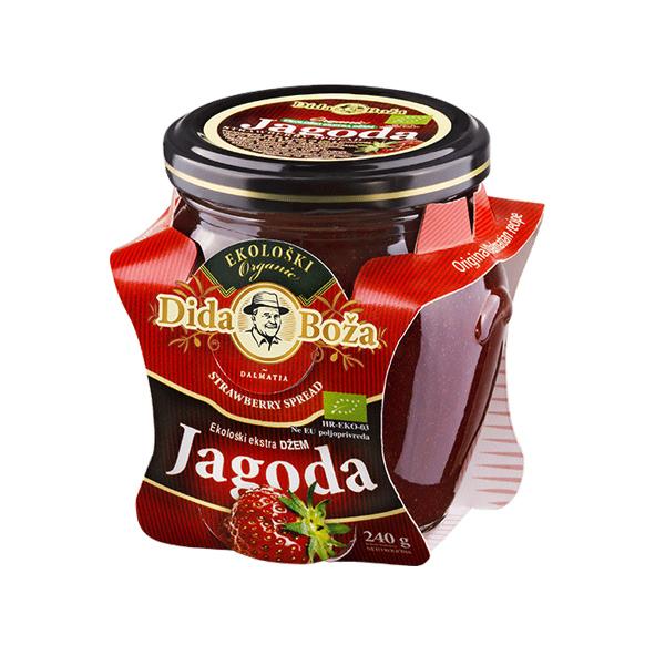 Marmolada ekologiczna z truskawek