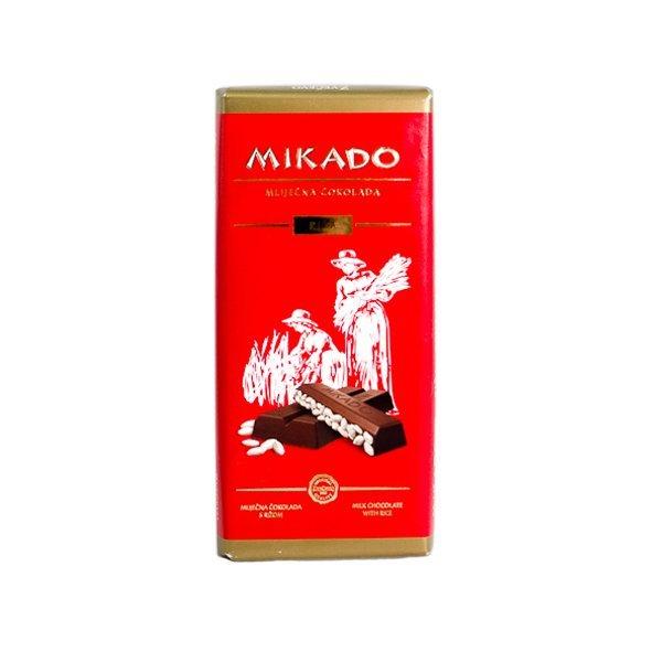 Czekolada mleczna z ryżem ekspandowanym
