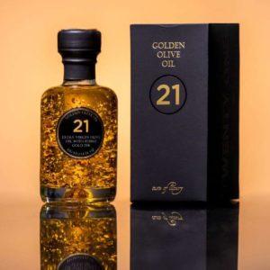 Oliwa z oliwek extra virgin ze złotem(21)