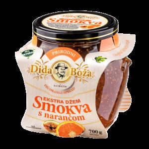 Marmolada z fig i pomarańczy 700 g